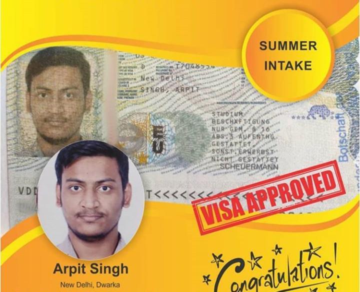 career talks germany visa approved