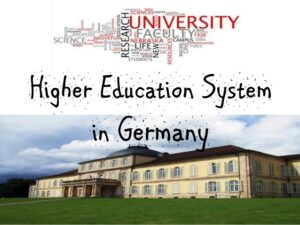 Career talks higher education system in germany